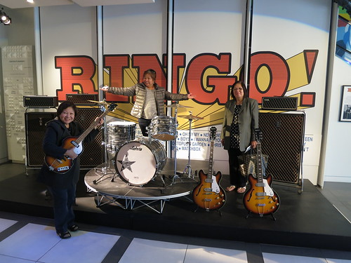 IMG_7546: Ringo Starr Exhibit at the Grammy Museum, Los Angeles, California