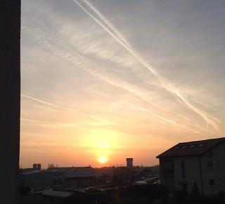 April Sunrise in my City!