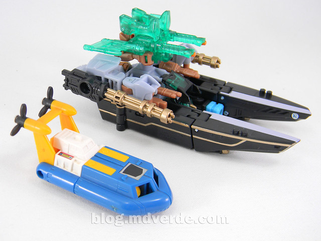 Transformers Undertow con Waterlog Power Core Combiners - modo alterno vs Seaspray