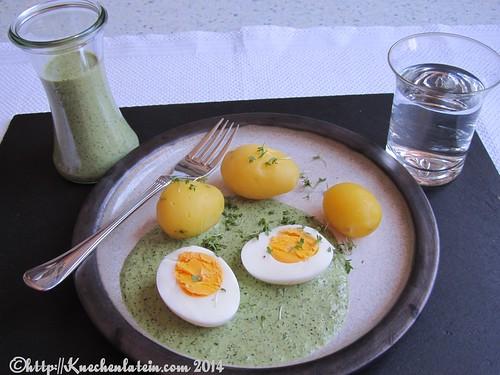 vegetarischer gr ndonnerstag frankfurter gr ne sauce mit pellkartoffeln und ei. Black Bedroom Furniture Sets. Home Design Ideas