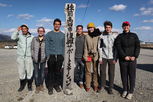 Team #TGSTohoku with Sadao Sato of P@CT (Rikuzentakata, Japan)