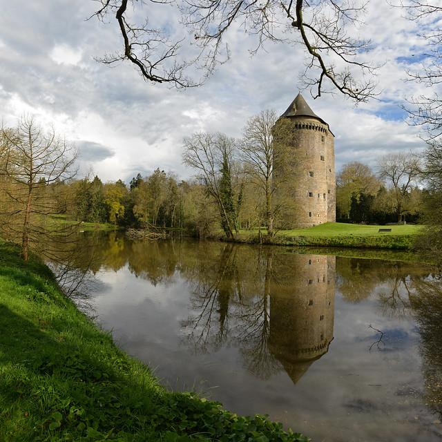 Quel est ce lieu ? Château de Grand-Fougeray, Ille-et-Vilaine, 2016