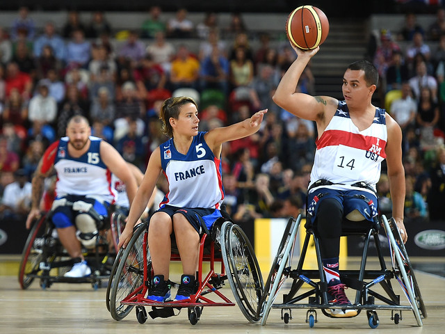 Invictus Games - Day Three - Wheelchair Basketball
