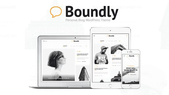 Boundly WordPress Theme free download