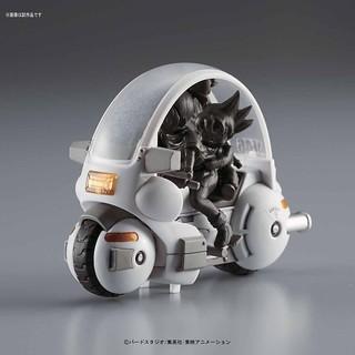 以輕鬆組裝的方式重現《七龍珠》世界的獨特載具設計!MECHA COLLECTION DRAGONBALL メカコレクション