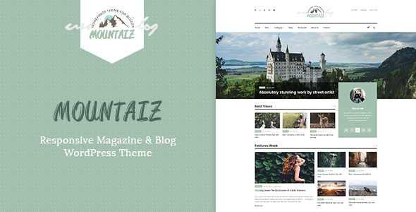 Mountaiz WordPress Theme free download