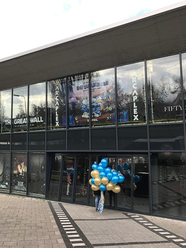 Heliumballonnen Premiere Beauty and the Beast Arcaplex Spijkenisse