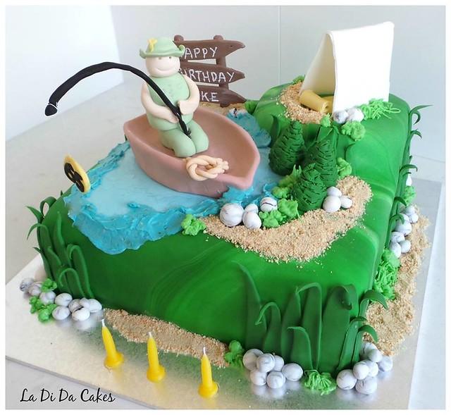 Cake by La Di Da Cakes & Events