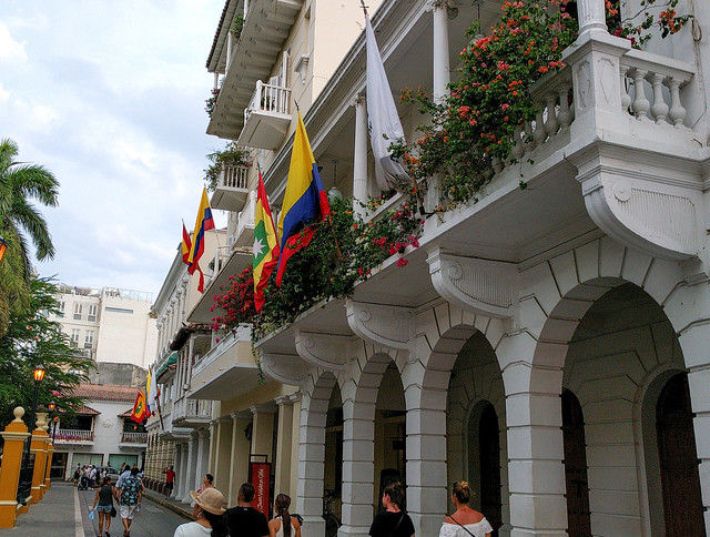 The Walled City, Cartagena, Colombia