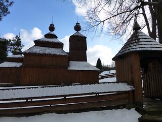 Wooden church in Bodružal, Eastern Slovakia