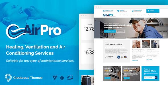 AirPro WordPress Theme free download