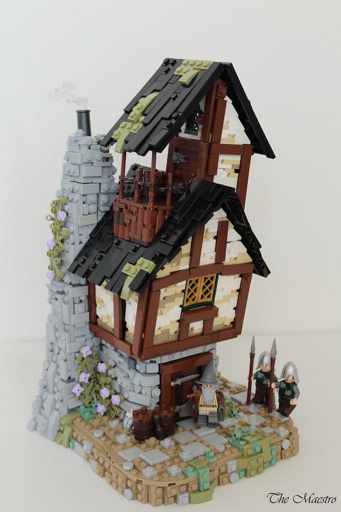 LCBTC- Oswald the Ordinary (custom built Lego model)