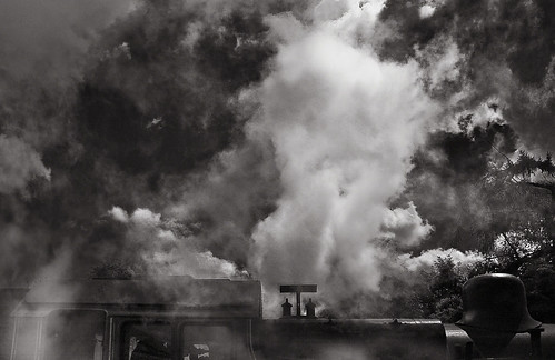 rpsi 262t ireland blackwhite 2c wexford gorey steam locomotive atmospheric smoke sky