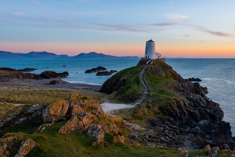 Twr Mawr Lighthouse  Llanddwyn - Anglesey (Explored 30/3/17)