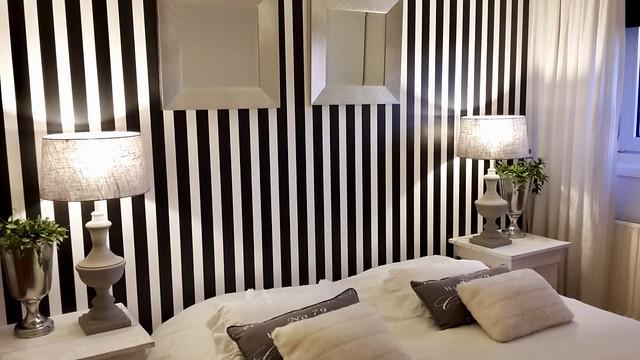 Slaapkamer zwart/wit