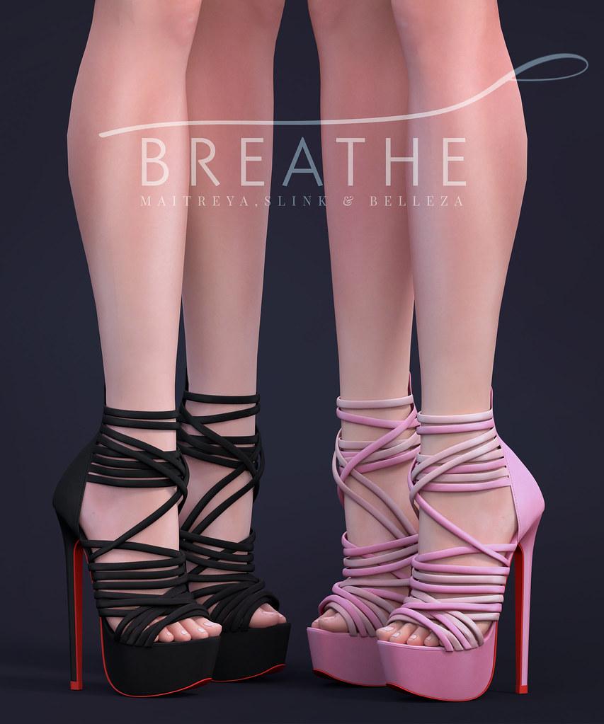 [BREATHE]-Letitia Heels - SecondLifeHub.com