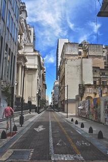 Calles del centro de Buenos Aires