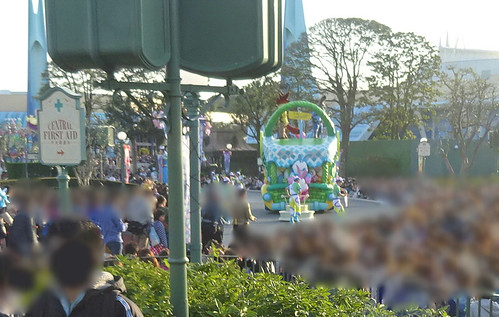 東京ディズニーランドのパレード
