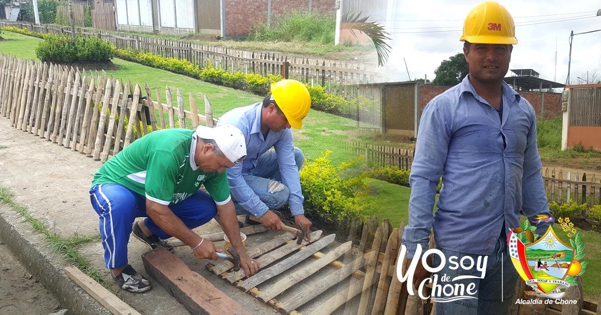 Luis Arteaga El todólogo del Municipio de Chone