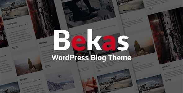Bekas WordPress Theme free download