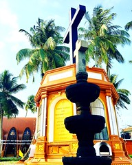 Coonan Cross Old Syrian Church, Mattancherry, India.  St. George Orthodox Koonan Kurish Old Syrian ChurchNear Lobo jn., Pullupaalam Rd., Mattancherry, Kochi, Kerala 682002, India+91 99461 20597https://goo.gl/maps/v6HCJnVy9Vr