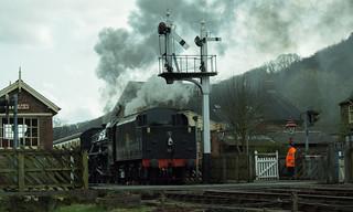 20170330-43_Black Five Engine 5MT 45407 leaving Levisham Station