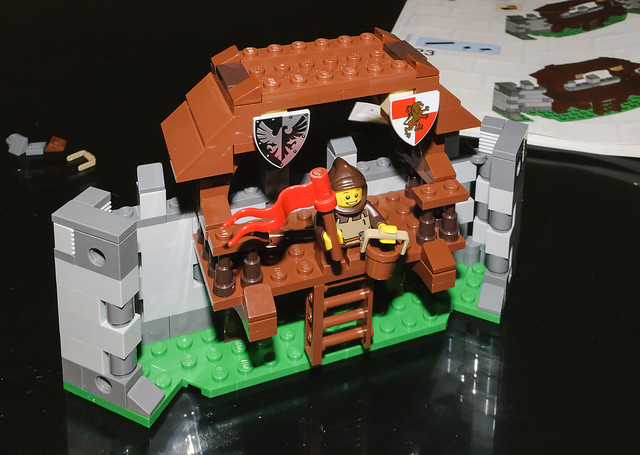 Lego 10223 kingdoms joust flickr photo sharing - Knights of the round table lego ...