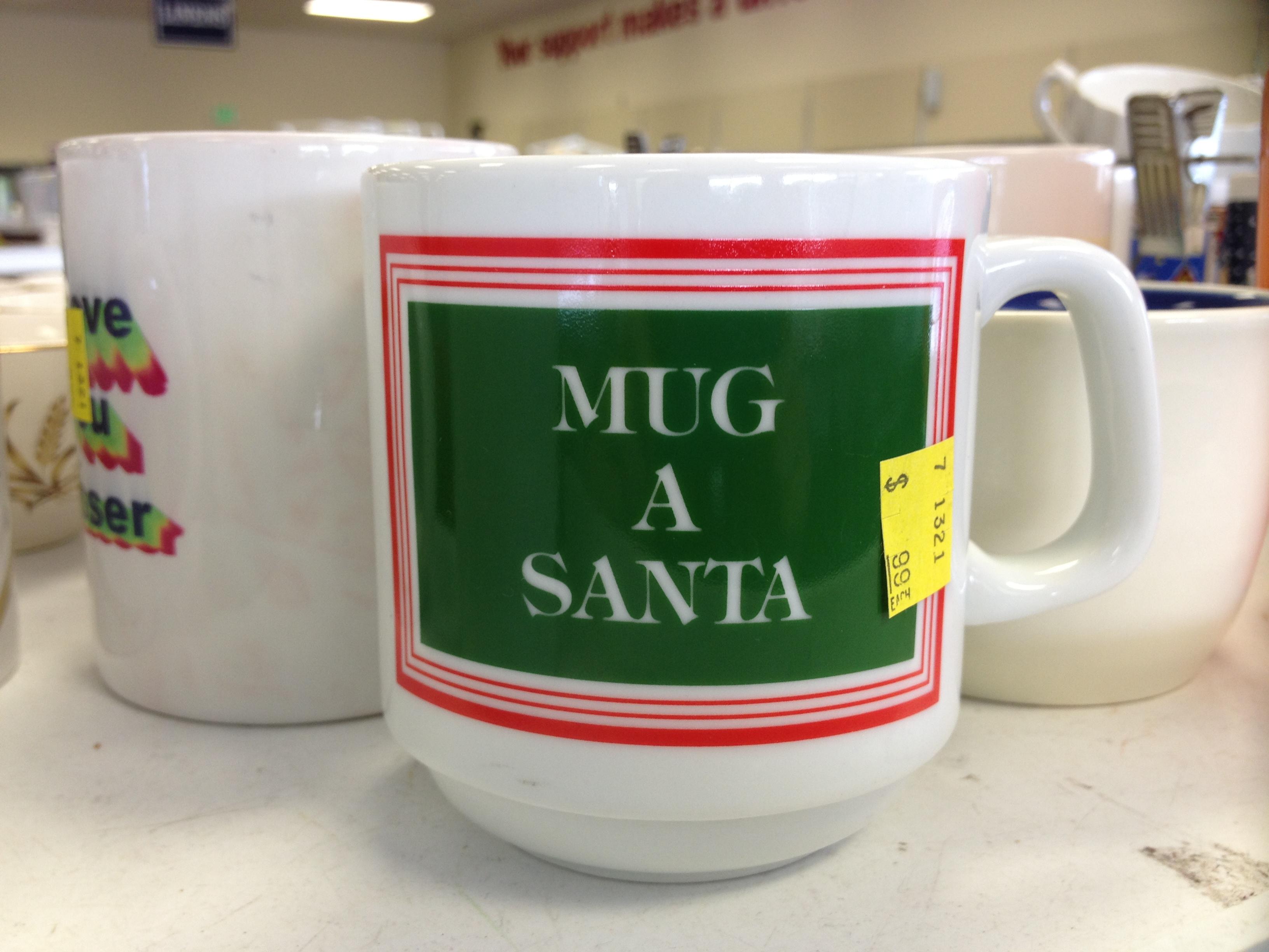 Mug a Santa