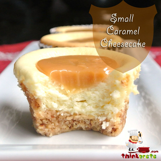 Small Caramel Cheesecake with Dulce de Leche. | Flickr - Photo Sharing ...