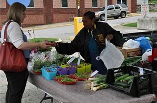 GreenMarket, Kansas City, KS (courtesy of Local Initiatives Support Corporation)