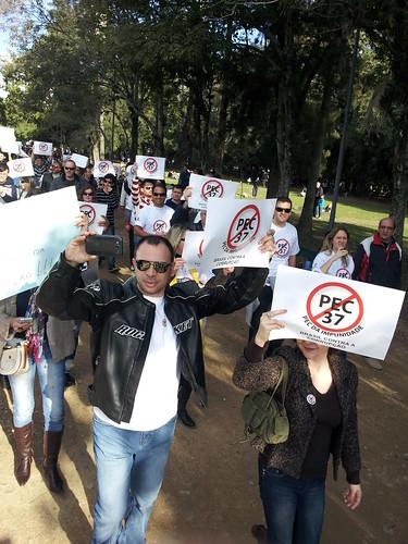 Marcha contra PEC 37 - POA 23/06