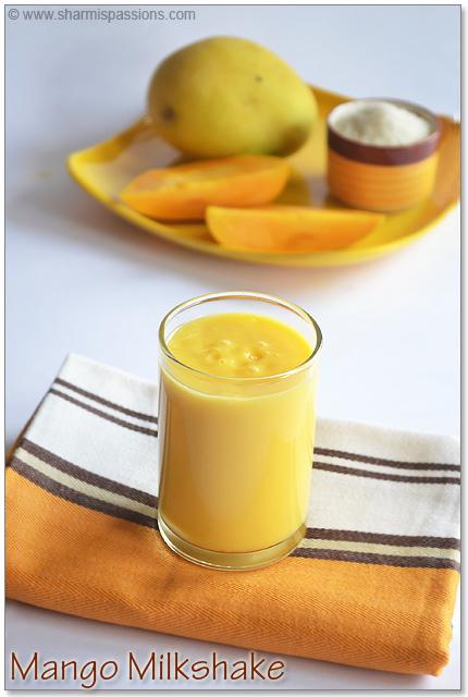 Mango Milkshake Recipe