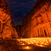 Time Stands Still - Petra By Night, Jordan by blame_the_monkey