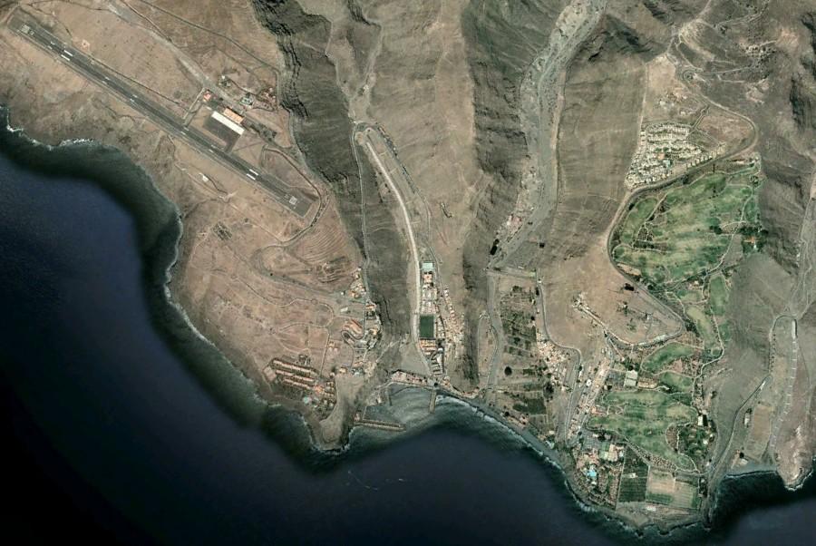 Laguna de Santiago, Playa de Santiago, La Gomera, Santa Cruz de Tenerife, campos de golf, después, urbanismo, planeamiento, urbano, desastre, urbanístico, construcción, rotondas, carretera