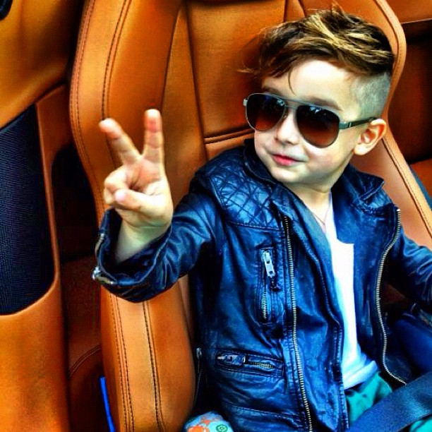 alonso mateo the youngest fashion trendsetter - blog of the world
