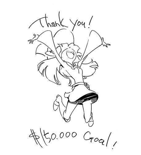 130711(1) - Kickstarter建功!奇幻動畫續集《リトルウィッチアカデミア 2》(Little Witch Academia 2)六小時募15萬鎂,預定2015年3月完成! 1