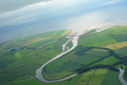River Roe and Lough Foyle, Glider View