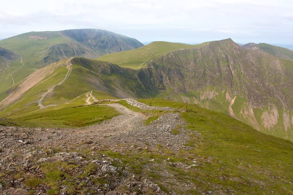 From Grisedale Pike towards Hopegill Head