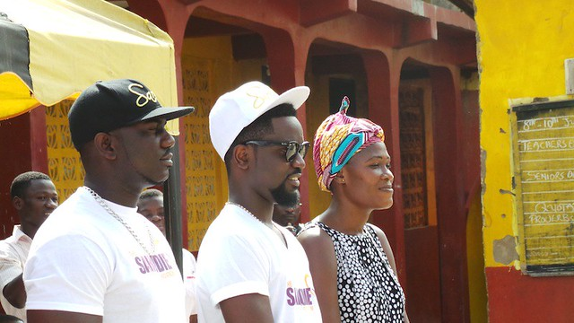 Sarkodie donates to Royal Seed Orphanage