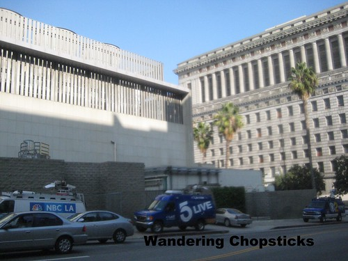 Dr. Conrad Murray Michael Jackson Trial Media Circus - Los Angeles County Superior Court 10