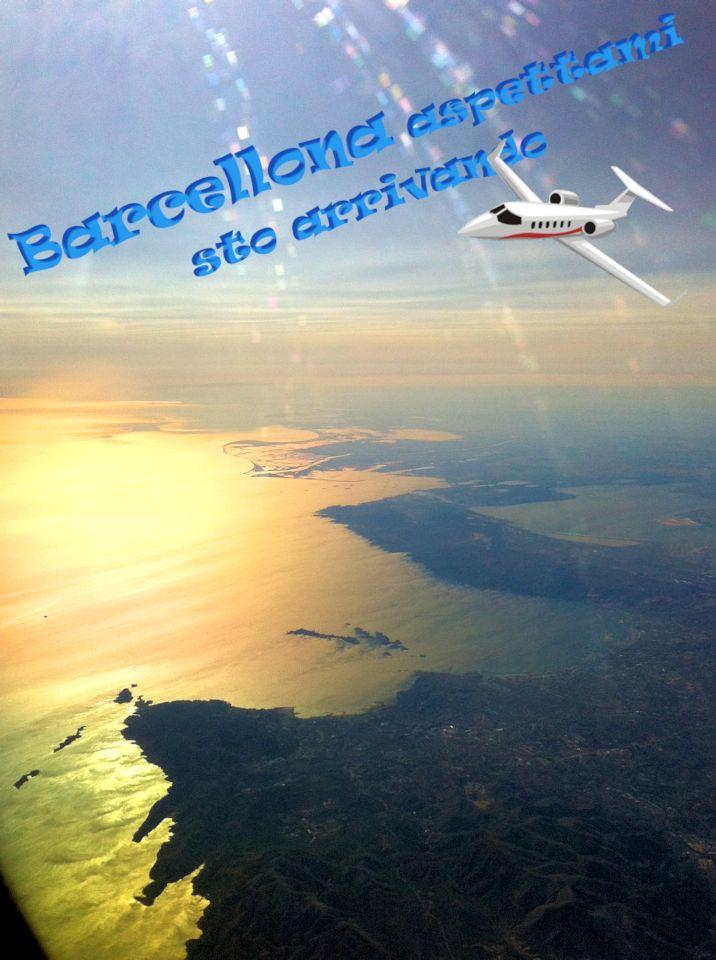 Barcellona arrivo