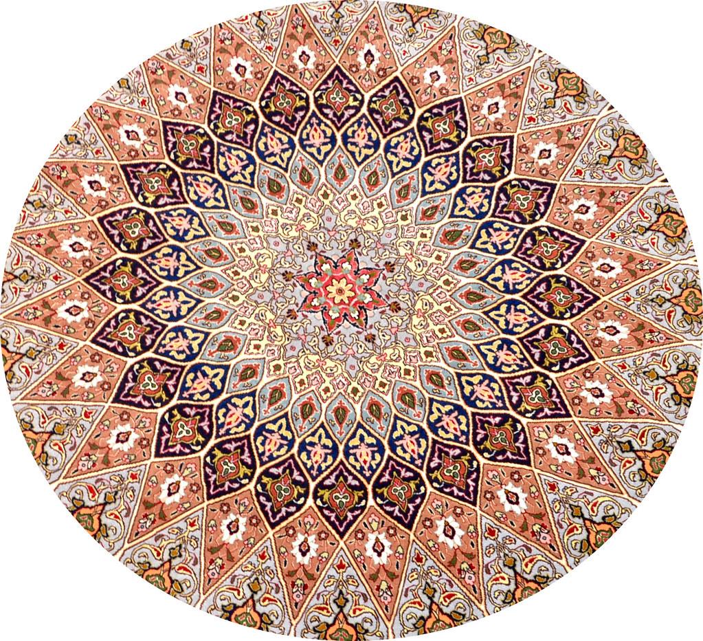Gonbad Royalty Silk Persian Rug Item Pf 29