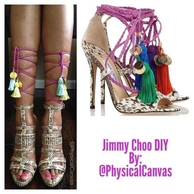 DIY Jimmy Choo