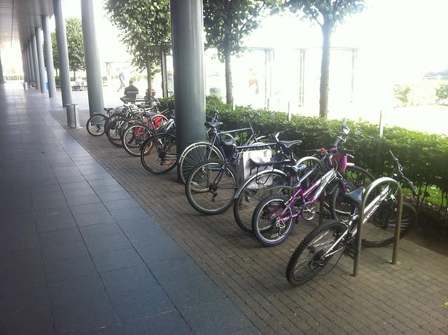 Ocean Terminal bike parking