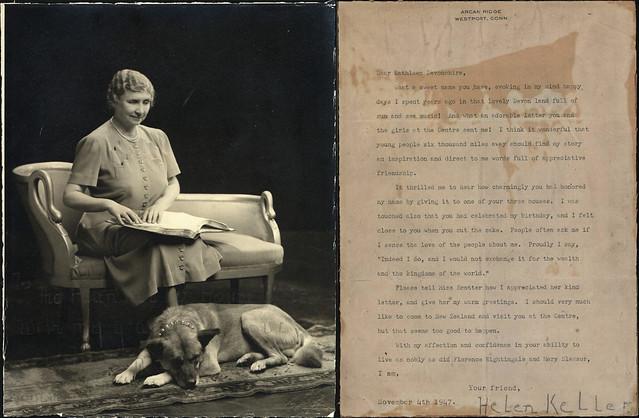 Helen Keller (1880 - 1968) Ephemera