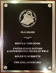 NLG Best US Coin Book Award 2013