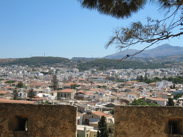 View of the city from the Fortezza of Rethymno | Rethymno, Greece