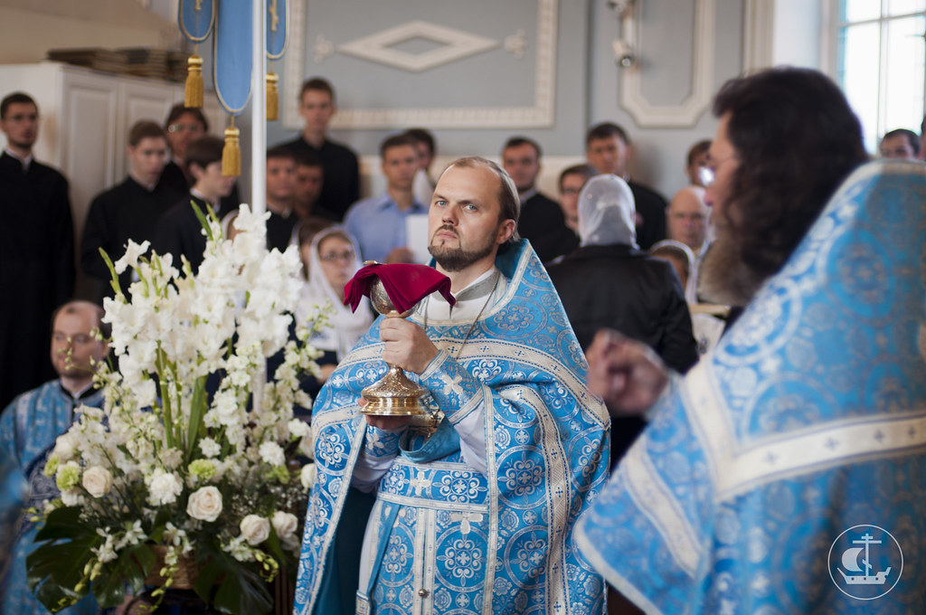 1 сентября 2013, Божественная литургия в Седмицу 10-ю по Пятидесятнице