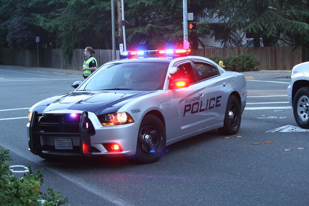 Redmond Police Department Redmond Wa Marked Unit 1566
