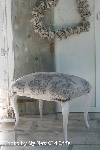 Sgabelli shabby chic handmade